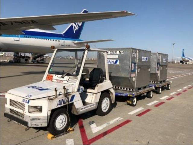 ニュース画像 1枚目:トーイングトラクター自動走行技術