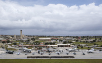 ニュース画像 1枚目:アンダーセン空軍基地に各国軍が集結