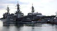 ニュース画像:海上自衛隊、練習艦かしま、やまゆき、護衛艦いなづまで近海練習航海