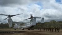 ニュース画像:防衛省、海兵隊の回転翼機とオスプレイ訓練移転 2019年度は3回計画