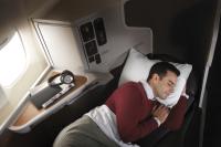 ニュース画像:アメリカン航空、都内で快適シート体験キャラバン キャンペーンも