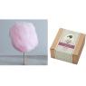 ニュース画像 2枚目:京都嵐山 zarame 綿菓子 ピーチ×バニラ味