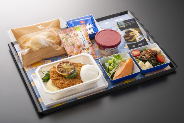 ニュース画像 1枚目:ANA 機内食イメージ