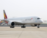 ニュース画像 1枚目:アシアナ航空 A350-900、画像は7号機