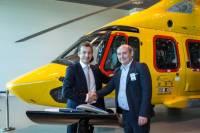 ニュース画像:エアバス・ヘリコプターズ、EC175 2機を運航会社に初納入