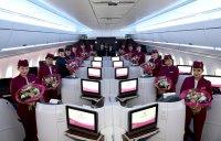 ニュース画像 1枚目:カタール航空 客室乗務員 イメージ