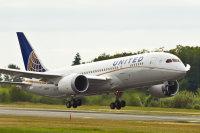 ニュース画像 1枚目:ユナイテッド航空 787