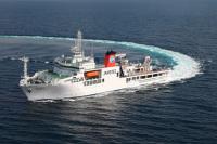 ニュース画像 1枚目:海底広域研究船「かいめい」