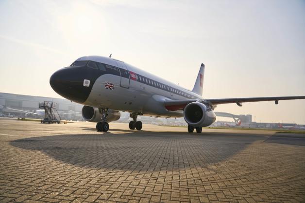 ニュース画像:ブリティッシュ・エア、ガトウィック空港にBEA塗装のA319登場