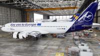ニュース画像:ルフトハンザドイツ航空、特別塗装で欧州議会選挙への投票を呼びかけ