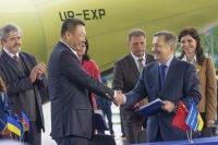 ニュース画像 1枚目:中国にAn-178を提供する契約を締結したアントノフ