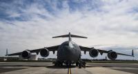 ニュース画像:岩国フレンドシップデー、C-17A飛来 オスプレイレベルIIIデモも