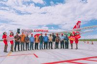 ニュース画像:エアアジア、ロンボクを新ハブ空港として運用開始 特別塗装機も公開