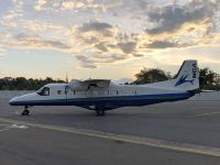 ニュース画像:RUAG、新中央航空に「JA37CA」を納入 龍ケ崎飛行場に到着