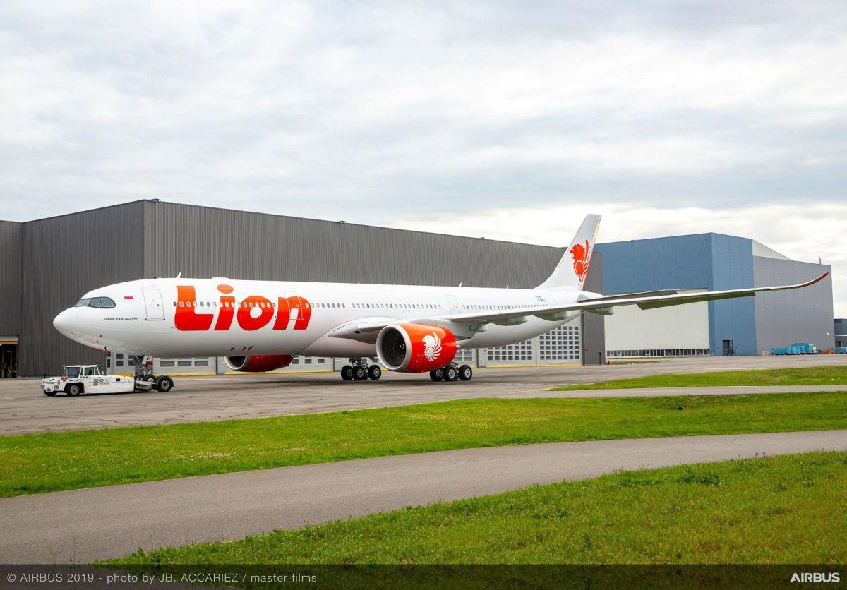 ニュース画像 1枚目:ライオン・エア塗装のA330neo