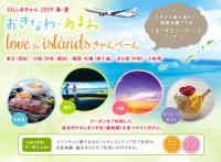 ニュース画像:JAL、春夏の沖縄・奄美ツアー申込でクーポン配布 5月20日から