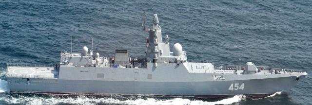 ニュース画像 1枚目:アドミラル・ゴルシコフ級フリゲート「454」