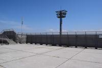 ニュース画像:米子空港、展望デッキの眺望に制限 増改築工事も航空祭当日は開放