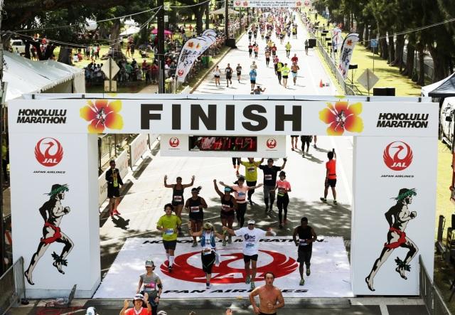 ニュース画像 1枚目:JALホノルルマラソン