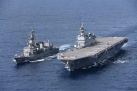 ニュース画像:護衛艦「いずも」「むらさめ」、日仏豪米共同訓練「ラ・ペルーズ」を実施