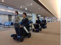 ニュース画像:ANA、旅行をサポートするパーソナルモビリティ実証実験 成田で実施