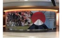 ニュース画像:羽田空港、ラグビーワールドカップ2019日本大会の装飾を開始