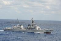ニュース画像:海自、練習艦「かしま」と護衛艦「いなづま」で令和初の遠洋練習航海