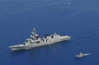 ニュース画像:さみだれ、フィリピン海軍と捜索救難訓練を実施 親善行事も