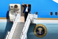 ニュース画像 1枚目:来日するトランプ大統領