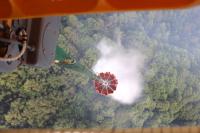 ニュース画像:東京都檜原村での山林火災、相馬原の第12ヘリコプター隊などが災害対応