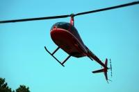 ニュース画像:つくば航空、6月1日と2日に霞ヶ浦総合公園でR44Ⅱによる遊覧飛行