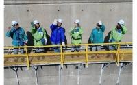 ニュース画像:ソラシドエア、機内で「ダムツアー」を紹介 インフラツーリズム推進