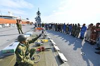 ニュース画像:陸自と海自、「いずも」艦上でマレーシアのHA/DR能力構築を支援