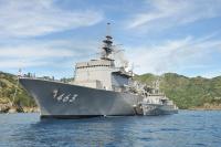 ニュース画像:海自、硫黄島周辺で実機雷処分訓練 日米共同の掃海特別訓練も初実施