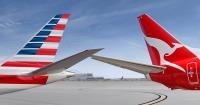 ニュース画像:カンタス航空とアメリカン航空の共同事業、アメリカ運輸省が暫定承認