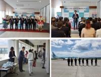 ニュース画像:大韓航空、旭川/仁川線の就航と新千歳/仁川線の就航30年で記念式典