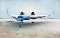 ニュース画像:未来の航空機「Flying-V」研究、KLMがデルフト工科大学に協力