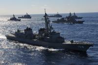 ニュース画像:海自、インド太平洋方面派遣訓練に護衛艦「あけぼの」を追加派遣