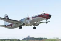 ニュース画像:入間の飛行点検隊、6月17日にYS-11FCで立川飛行場を点検