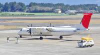 ニュース画像:日本エアコミューター、最後のQ400「JA851C」を抹消登録