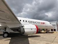 ニュース画像:MRJ改めスペースジェット、パリに展示
