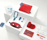 ニュース画像:ユナイテッド、スパイダーマンとコラボしたアメニティキットをプレゼント