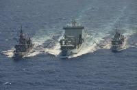 ニュース画像:海上自衛隊、カナダ海軍と共同訓練「KAEDEX19-1」を実施