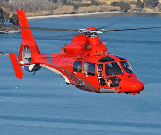 ニュース画像 1枚目:AS365N3+ヘリコプター