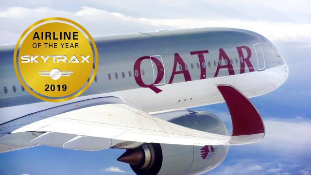 ニュース画像 1枚目:カタール航空5度目の1位