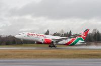 ニュース画像 1枚目:ケニア航空