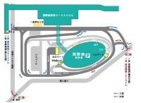 ニュース画像 1枚目:国際線駐車場案内図