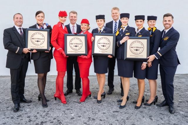 ニュース画像 1枚目:ルフトハンザ、オーストリア、スイスがそれぞれ部門賞を受賞