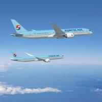 ニュース画像:大韓航空、787-10を20機、787-9を10機発注