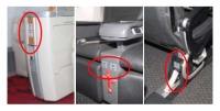 ニュース画像 1枚目:ファースト、クラスJ、普通席の設置箇所
